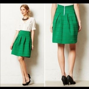 Anthropologie ponte bell circle skirt